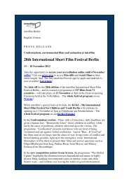 PM3_Engl_Confrontations, environmental films and ... - Interfilm Berlin