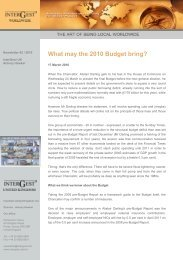 2010 / 05 Newsletter InterGest United Kingdom