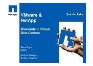 VMware & NetApp - interface:systems