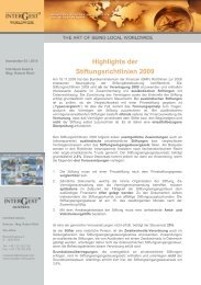 2010 / 03 Newsletter InterGest Austria