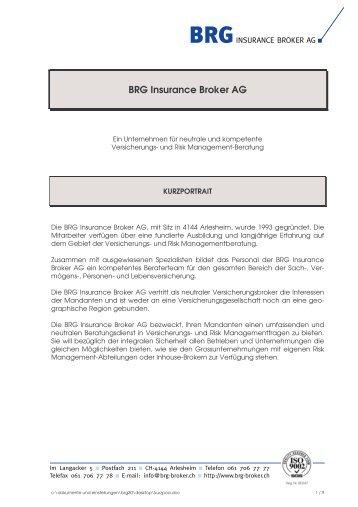 Broker Mandat Vereinbarung Top Insurance