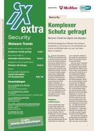Kriminelle Dienstleistung iX - Institut für Internet-Sicherheit