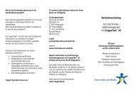 Selbstmanagement mit CoaguChek® XS - Internisten am Markt
