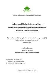 Interpretationspfad Greifswalder Oie - Bildungswerk interpretation