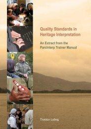 Quality Standards in Heritage Interpretation - Bildungswerk ...