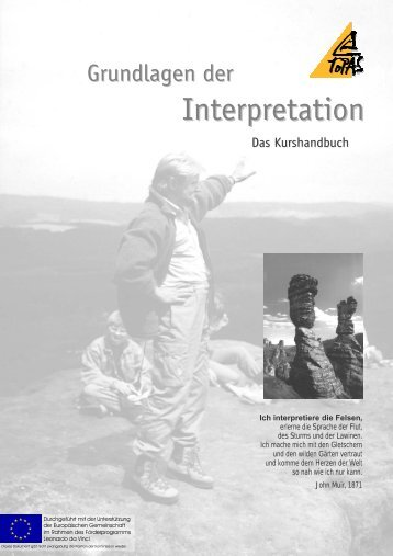 Basic Interpretive Skills - a European Pilot Course (Text