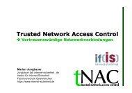 tNAC - Vertrauenswürdige Netzwerkverbindungen, Future Talk
