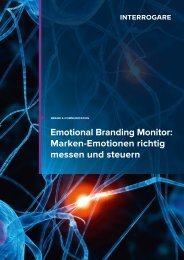 Emotional Branding Monitor: Marken-Emotionen ... - Interrogare GmbH