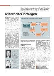 Mitarbeiter befragen (Fachartikel) - Interrogare GmbH