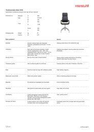 Technical data sheet E - Interstuhl.de