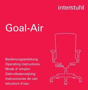 Bedienungsanleitung - Interstuhl