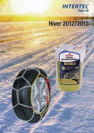 Hiver 2012/2013 - Intertec GmbH