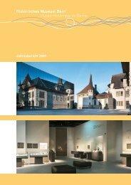 Jahresbericht 2009 Historisches Museum Bern - Bern, Historisches ...