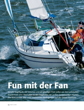 Fun mit der Fan - Fan Yachts Berlin