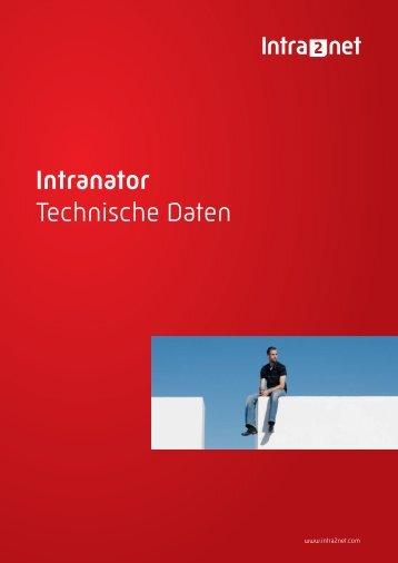 Intranator Technische Daten - Intra2net AG