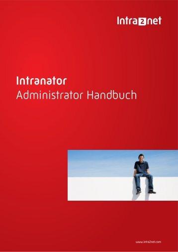 Intranator Administrator Handbuch - Intra2net AG