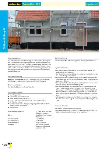 Druckbares Produktdatenblatt - Weber