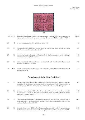 Catalogo 3 Asta Generale - parte 2 - Investphila