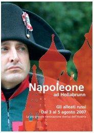 Napoleone ad Hollabrunn Gli alleati russi Dal 3 al 5 ... - Werbung & Co