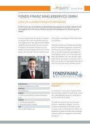 Fonds Finanz Maklerservice GmbH Success Story - Inworks GmbH