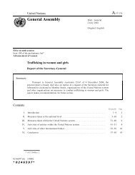 Trafficking in women and girls - International Organization for ...