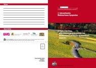 4. Internationales Weintourismus Symposium 25. & 26. Mai ... - Iphofen