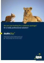 AkuWinOfficeNG - ipn Software GmbH