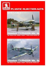 Hawker TYPHOON Mk. Ib - IPMS Deutschland