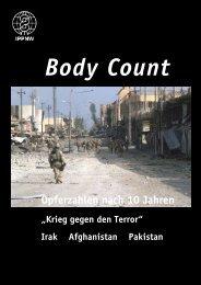 IPPNW: Body Count - Opferzahlen nach 10 Jahren