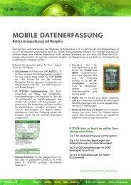 MOBILE DATENERFASSUNG - IP Syscon