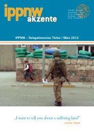 Reisebericht als PDF - ippnw