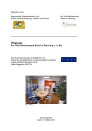 Pflegeoase Pur Vital Seniorenpark Alztal in Garching a. d. Alz - isgos