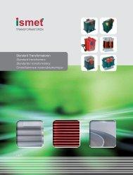 I02 Inhaltsverzeichnis Stand... - Ismet AG
