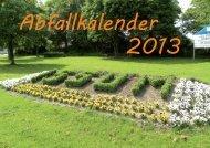 Abfallkalender 2013 - Kollick & Neumann GmbH
