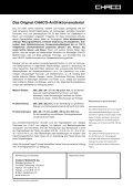 Das Original CHACO-Antifriktionsmaterial - Seite 2