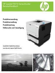 Handbuchs - Hewlett Packard