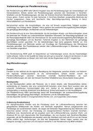 Vorbemerkungen zur Pendlerrechnung - Information und Technik ...