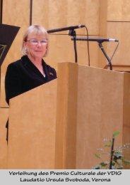 Laudatio Dr. Friedrich Ruth von Dott.saa Swoboda - VDIG