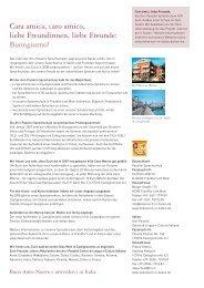 Preise pro Person in Euro - Italienisch Sprachschulen