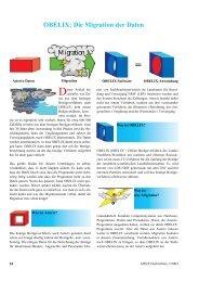 OBELIX: Die Migration der Daten - Information und Technik ...