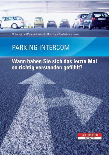 ParkIng Intercom