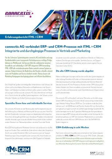 Erfahrungsbericht connectis AG verbindet ERP - ITML GmbH