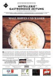 MAlz, hoPfEn und WAssER - Schweizer Brauerei - Verband