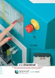Simple and accurate process control for research and ... - Alem Mar