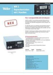 Reparatustation mit Heißluftkolben HAP 1 - IVD GmbH