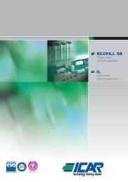 Ecofill SB, IL catalog - ICAR SpA