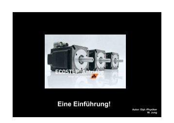 Die ECOSTEP - JUNG ANTRIEBSTECHNIK U. AUTOMATION GMBH