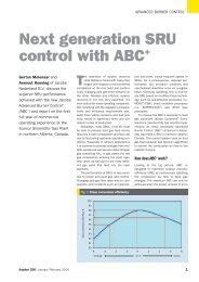 Next Generation SRU Control with ABC+