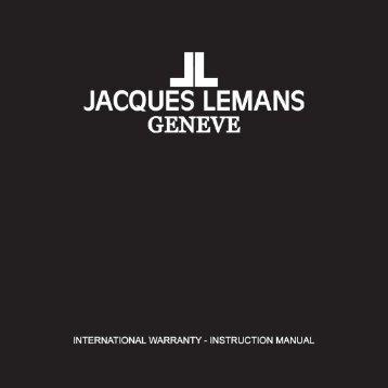 JACQUES LEMANS GENEVE - Jacques-Lemans-Shop