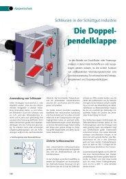 Die Doppelpendeklappe - Jaudt Dosiertechnik Maschinenfabrik GmbH